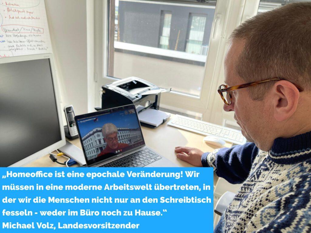 """DSTG Hessen in der Hessenschau – """"Homeoffice ist eine epochale Veränderung"""""""